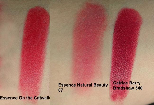 Essence + Catrice lipsticks 12