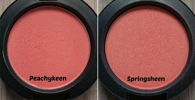 MAC-collectie Blushers 10-
