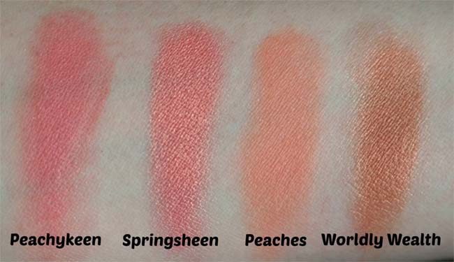 MAC-collectie Blushers 8