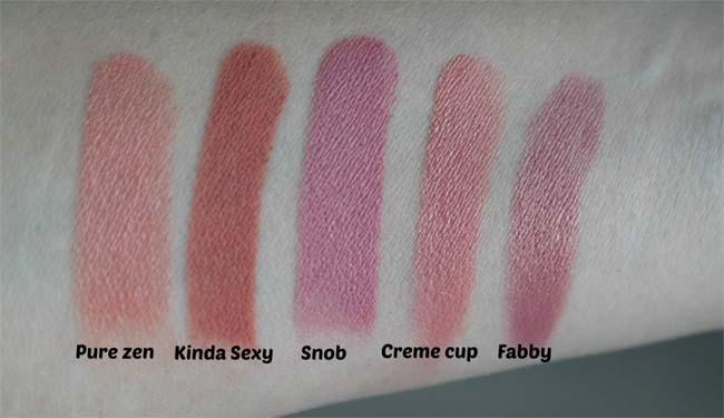 MAC lipstickcollectie 3
