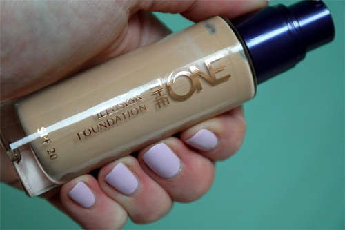 Oriflame The ONE Illuskin foundation 1