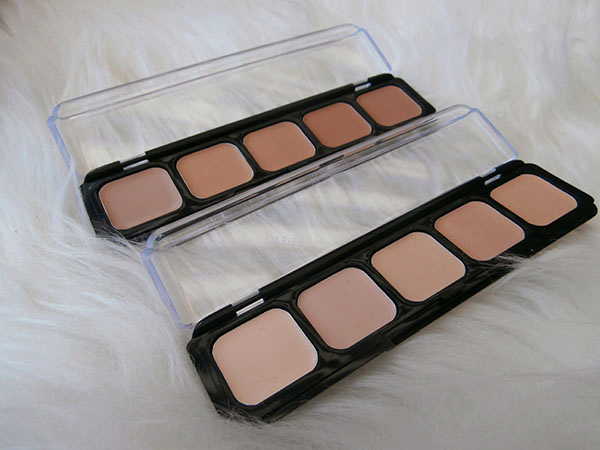 Sleek Creme to powder foundation tester kit 4