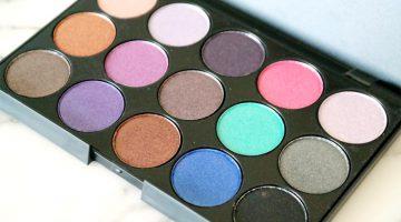 Review | Vivien Kondor eyeshadow palette (koel)