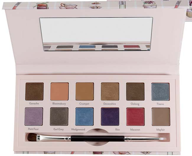 Cargo Suited to a Tea Cream Eyeshadow Palette