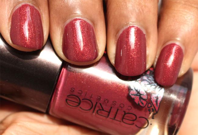 Catrice Viennart ARTful Red 2