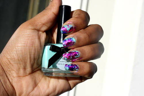 Ciaté Colourfoil Manicure Kaleidoscopic Klash 11