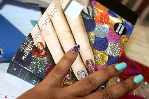 Ciaté Colourfoil Manicure Kaleidoscopic Klash 9