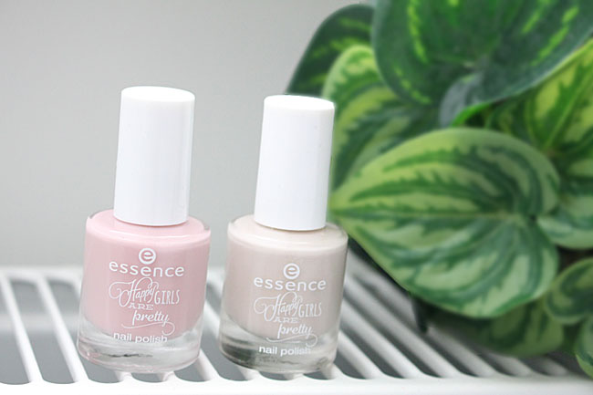 Essence nagellakken Just happy! en Pretty you! 2
