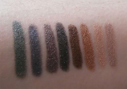 Gosh Forever Metallic Eyeshadow sticks 3