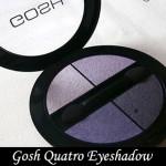Review   Gosh Quatro Eyeshadow