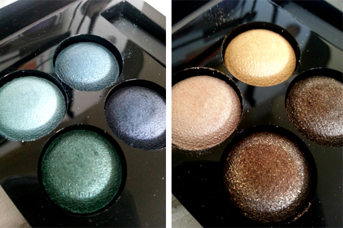 Hema Wet & Dry eyeshadows