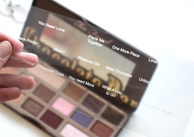 I Heart Make-up Chocolate Palette 3
