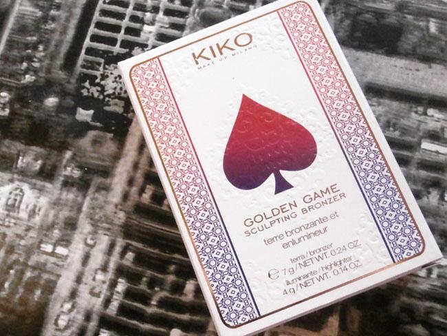 Kiko Golden Game Sculpting Powder 1