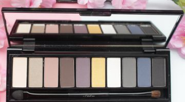 Review | L'oreal Paris La Palette Smoky