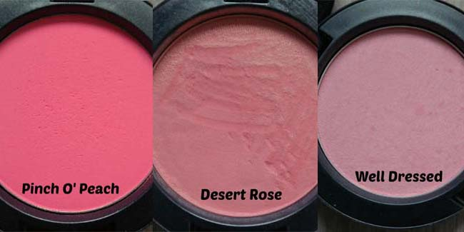 MAC-collectie Blushers 16-