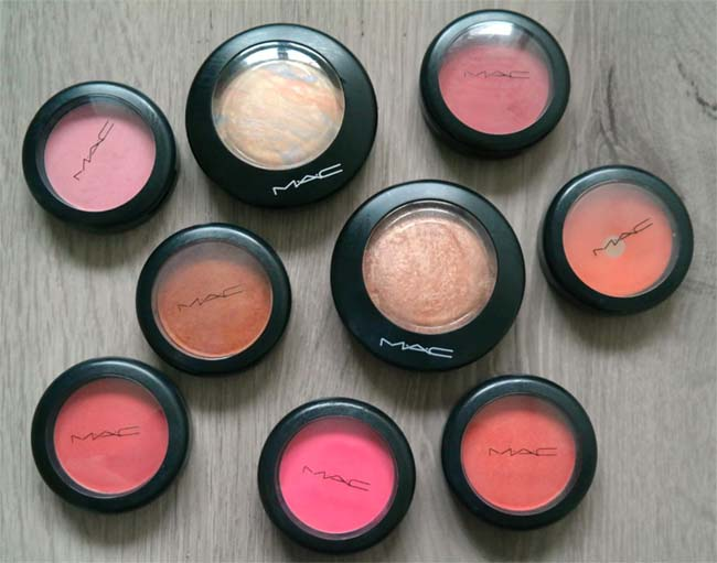 MAC-collectie Blushers 2