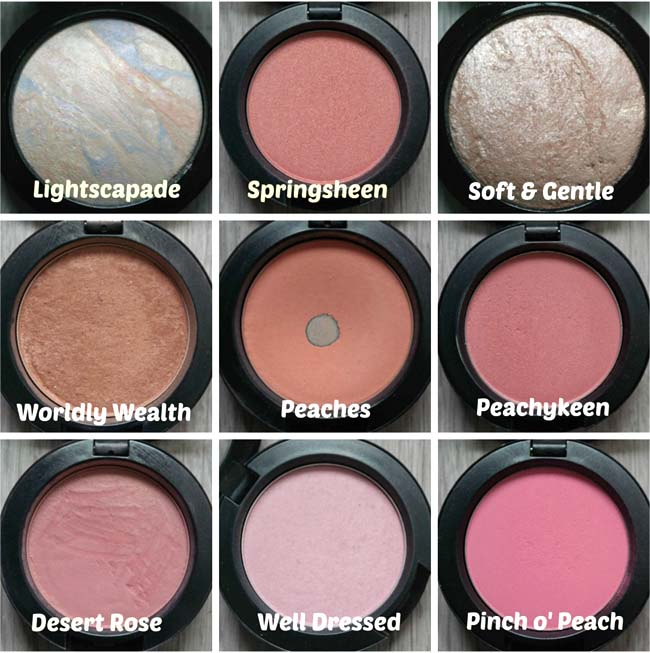MAC-collectie Blushers 20