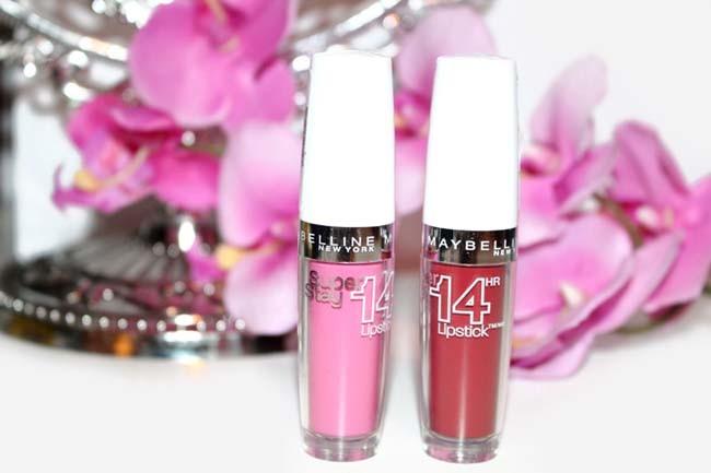 Maybelline SuperStay 14Hour Lipsticks 1