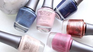 Swatches: Morgan Taylor The Great Ice-Scape Wintercollectie