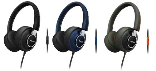 Philips CitiScape Denim hoofdtelefoon col