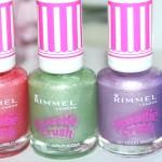 Rimmel Sweetie Crush – Swatches en Review
