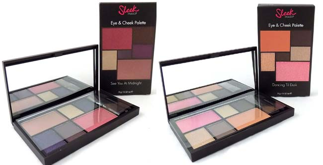 Sleek eye cheek palette