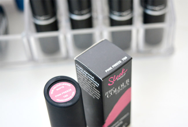 Sleek lipstick Pink Freeze 4