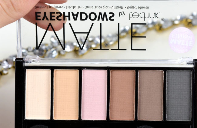 Technic Matte Eyeshadows Palette 3