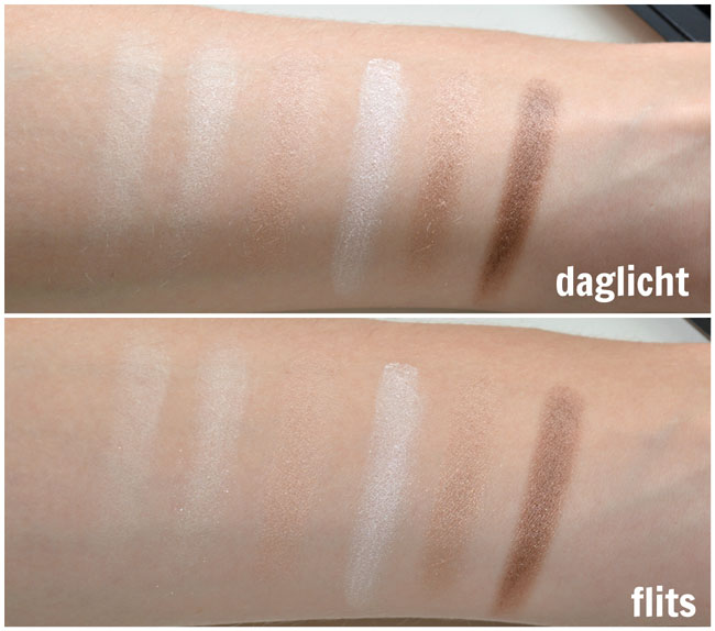 Technic Mega Nudes Eyeshadows 5