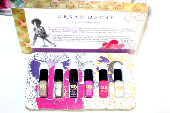 Urban Decay Rollergirl Nails set 2