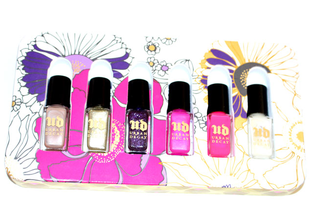 Urban Decay Rollergirl Nails set 3