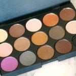 Review   Vivien Kondor Eyeshadow Palette (warm)