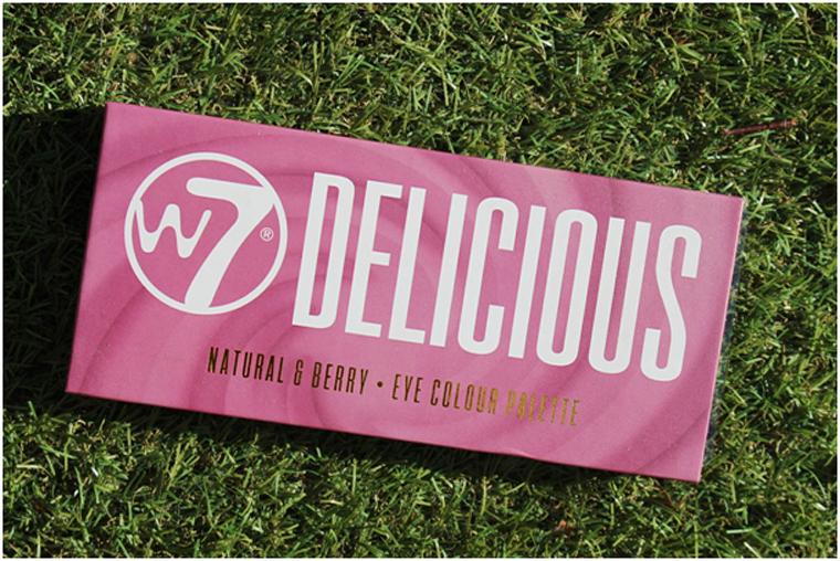 W7 Delicious Naturel & Berry Eye Colour Palette