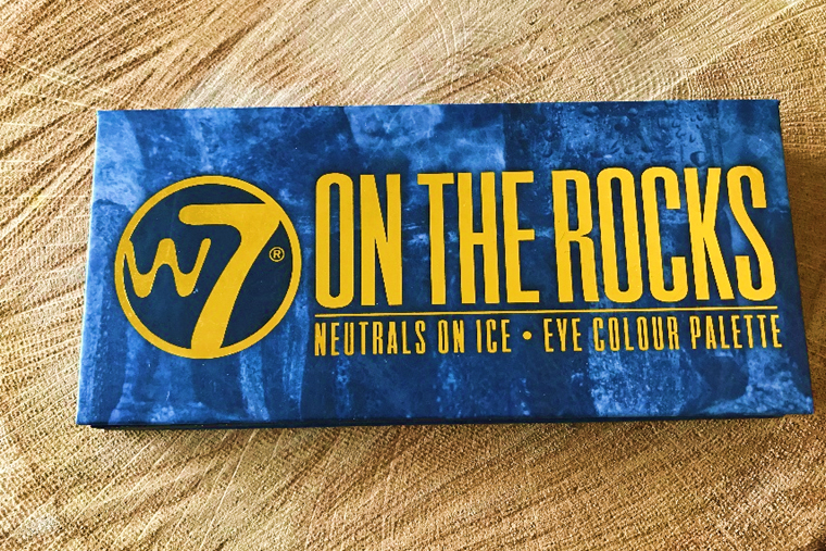 W7 On the Rocks Eye Colour palette Review