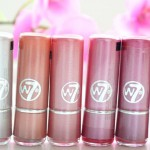 Review | W7 Fashion lipsticks 'The Pinks'