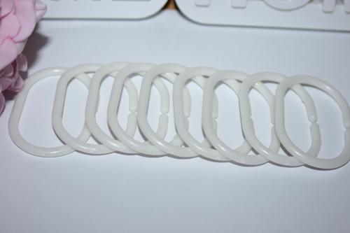 douche gordijn ringen
