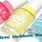 Essence Wave Goddess limited edition nagellakken