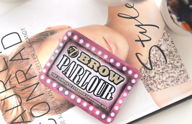 review W7 Brow Parlour 1