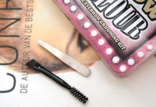 review W7 Brow Parlour 3