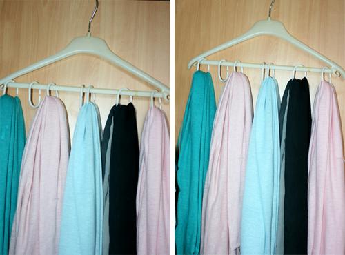 sjaal hanger
