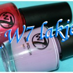 2x W7 nagellakjes